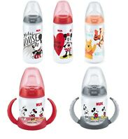 NUK Baby Infant Feeding Bottles Disney Mickey Minnie Winnie the Pooh Cup