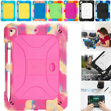 For iPad 5/6th 9.7 2018 Pro 9.7 Air 2 Case Shockproof Hybrid Hard Stand Cover