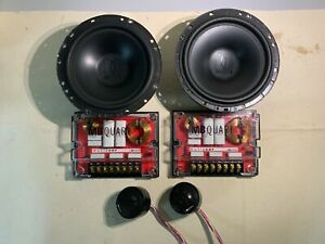 "MB Quart QM160Q Component Car Speaker 6.5"" Old School"