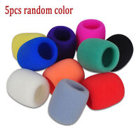 5 Colors Microphone Windscreen Karaoke Wind Shield Filter Mic Cover Foam