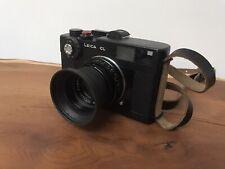 Leica CL Rangefinder Camera Body - w/ Leitz 40mm f/2 Summicron -Case & strap