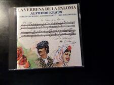 CD ALBUM - LA VERBENA DE LA PALOMA - ALFREDO KRAUS