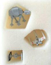 Star Wars Vehicles 3 Hallmark Keepsake miniature tabletop ornaments Christmas