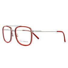 Dolce & Gabbana Glasses Frames DG 1288 04 Gunmetal Red 53mm Mens