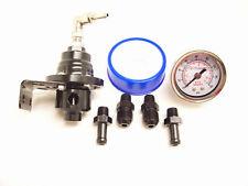 Rsr Pression de Carburant Régulateurs Réglable Noir + Mano VR6 16V G60 G40 Turbo