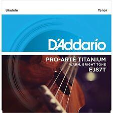 D 'Addario EJ87T cuerdas de ukelele tenor Titanio
