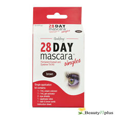 "Godefroy 28 Day Mascara Permanent Eyelash Tint Kit - Singles "" BROWN """