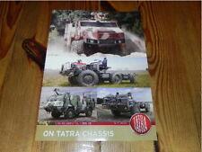 TATRA Defence Truck Militär Military Vehicles RAR brochure prospekt catalogue