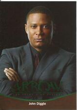 Arrow Season 1 Bronze Parallel Character Bios Chase Card CB08 John Diggle