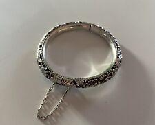 Bracelet Ancien Indochine - Argent Massif
