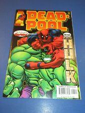Deadpool #4 Hulk VF+ Beauty Wow