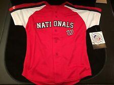 Washington Nationals Youth Size 4 Stitches Jersey . Kids Baseball Boys NEW
