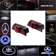 Ajuste Mercedes Benz CREE LED Proyector Entrada De Luz de puerta de coche luz de charco cortesía