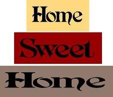 * Primitive Stencil ITEM #1711 ~ 3PC Block Set~ Home Sweet Home