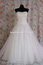 1362 Wedding dress dresses ball gown princess size 8 10 12 14 16 18 20 lace up