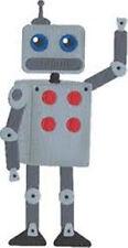 "Quickutz/Lifestyle Crafts C-0206-S-REV  ""Robot""  CUSTOM DIE"
