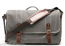 ONA Union Street Camera Bag (Smoke) - Premium Canvas Bags Stylishly Simple