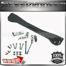 Rear Lower Tie Bar Sub frame Brace BLACK fit 1996-2000 Honda Civic EK EJ EM1
