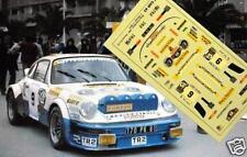 "DECAL CALCA 1/43 PORSCHE 911SC ""PROMOSERVICE"" I. OLIVERAS RALLY COSTA BRAVA 1985"