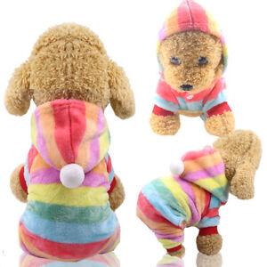 Dog Pajamas Size Small,Extra Small,Medium Puppy Sleepwear Jumpsuit Toy Poodle