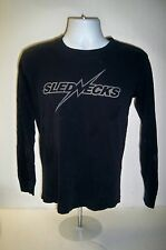 Long Sleeve Slednecks Tee Shirt  size small C-16