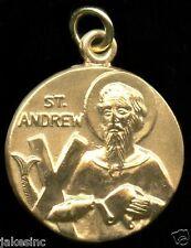 Saint Andrew Religious Pendant 12k Gold Filled