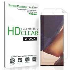 Samsung Galaxy Note 20 Ultra amFilm Premium TPU Screen Protector Film (2 Pack)