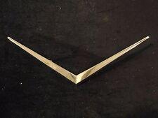"""1975/76 Cadillac Emblem Ornament """"V"""" O.E.M Trunk Lid Part Number 9890304"""