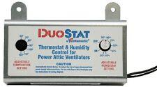 Ventamatic Xxduostat Adjustable Dual Thermostat/Humidistat Control for Power New
