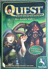 QUEST:  DER DUNKLE KULT + ATTACK OF THE  ORKS + TROLLFUTTER (OVP)