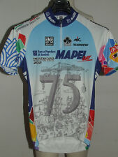 BIKE CYCLING JERSEY SHIRT MAILLOT CYCLISM SPORT MAPEI DAY 2012 SANTINI size M