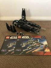 Lego Star Wars 7672 Rogue Shadow 100% Complete with Instructions!