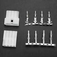 5pcs 4 Pin Plug and Socket Cable Connector Adapter for ICOM Antenna Tuner AT-120