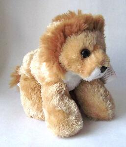 """Aurora Mini Flopsie LIONEL Lion 8"""" Stuffed Animal New 16603"""
