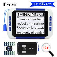 """3.5 """"LCD 32X tragbare elektronische Fernsehdigital-Vergrößerungsglas-Lesehilfe"""