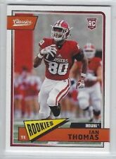 IAN THOMAS 2018 Panini Classics ROOKIE RC SP #291 Hoosiers / Panthers