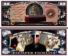 Les MARINES - BILLET 1 MILLION DOLLAR US ! Corps d'Armée Force Mililtaire Guerre