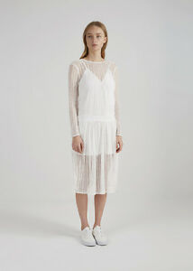NEW THE FIFTH LABEL LITTLE SECRETS DRESS WHITE LACE  X SMALL/6  &  MED/10
