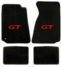 1994-2000 Ford Mustang Lloyd Mats Heavy Plush Floor Mats With Red GT Logo