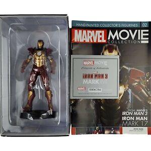 Marvel Movie IRON MAN 3 Mark 17 HEARTBREAKER Amour Special Figurine Eaglemoss