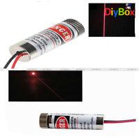 650nm 3-5V 5mW Adjustable Red Laser Line and Stripe Lens Focus Head Laser Module