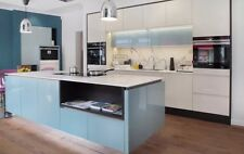 Brand New Ex-Display Kitchen Door and Drawer Fronts Gloss Blue Designer