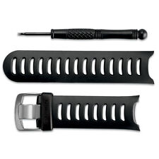 OEM Garmin Forerunner 610 Replacement Watch Band Kit Black with Removal Tool
