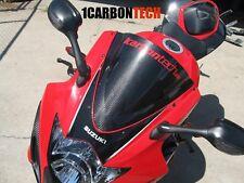 05 06 2005 2006 SUZUKI GSXR 1000 CARBON FIBER WINDSCREEN WINDSHIELD