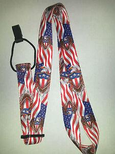 US Flag Ukulele Strap