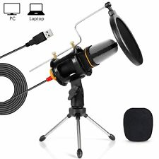TONOR Desktop Microphone Mic for Laptop PC Computer MSN Skype Web Chat Gaming