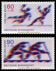 EBS Germany 1979 - Sports: Handball and two-man canoes - Michel 1009-1010 MNH**