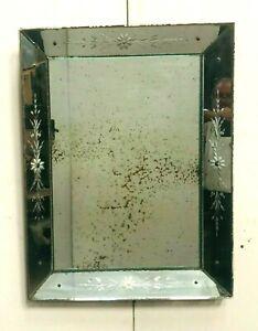 Miroir a pare closes de style Murano  XX siècle
