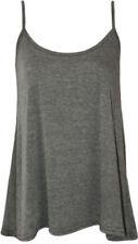 Maglie e camicie da donna grigia Casual Taglia 42
