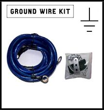 GROUNDING EARTHING WIRE CABLE WIRE VOLTAGE REGULATOR POWER ENGINE CHIP NEW NISMO